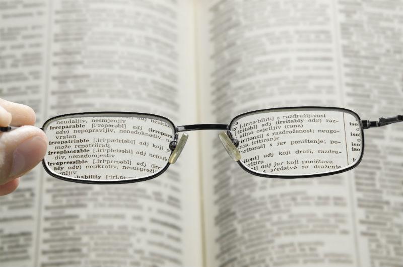 Come vede un astigmatico da vicino