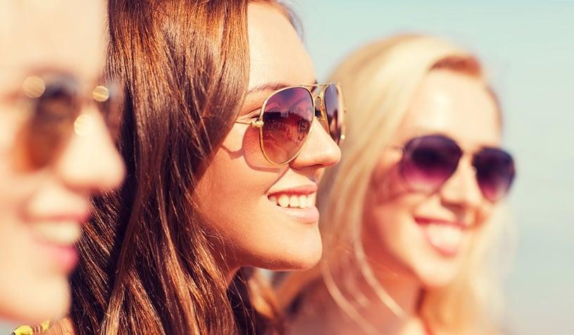 i benefici degli occhiali da sole protezione