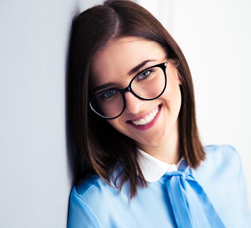 occhiali da vista eleganti donna
