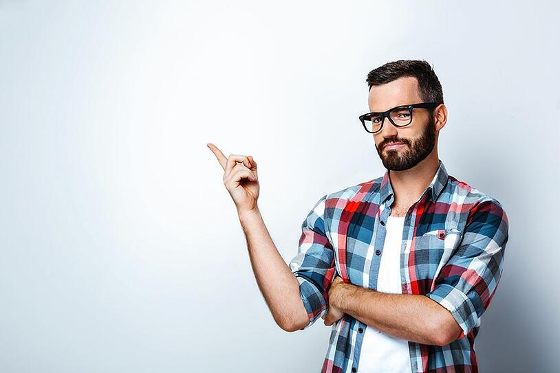 occhiali da vista eleganti uomo