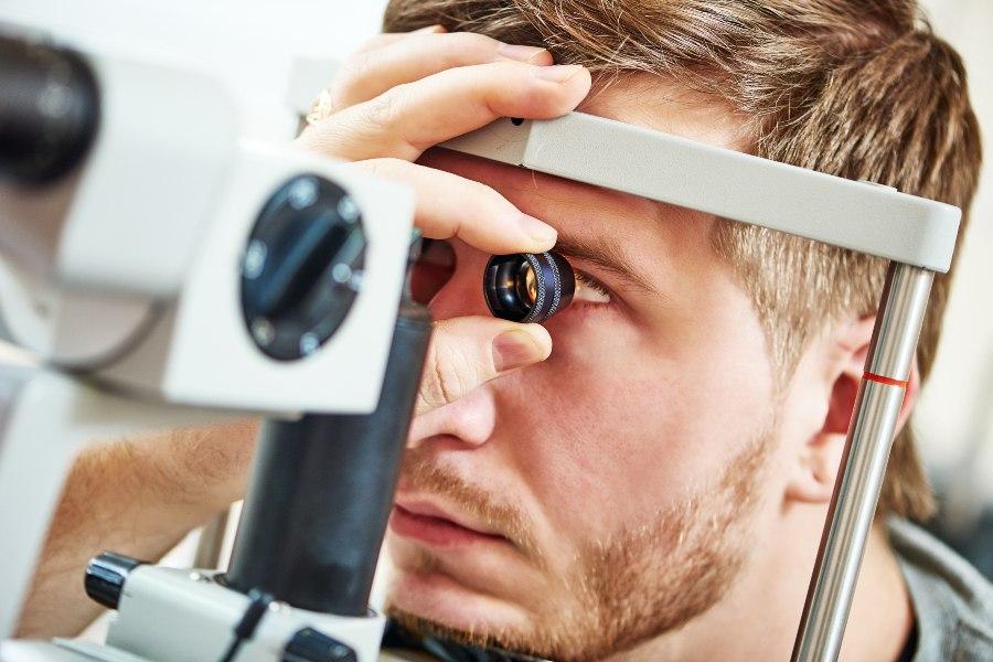 Esame oftalmologico
